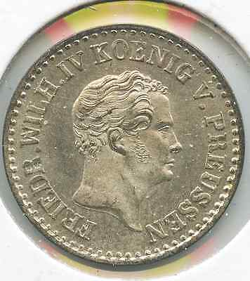 Germany-Prussia.  1842D Groschen.  KM #435.  Uncirculated.  (E-1057)
