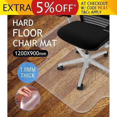 Hard Floor Office Computer Work Protector Carpet Chair Mat Chairmat 120cm x 90cm