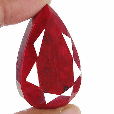 338 Cts Natural Huge Ruby Pendant Size Rare Pigeon Blood Red Certified Gemstone