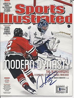 DUNCAN KEITH Signed SPORTS ILLUSTRATED Magazine with Beckett COA - NO LABEL