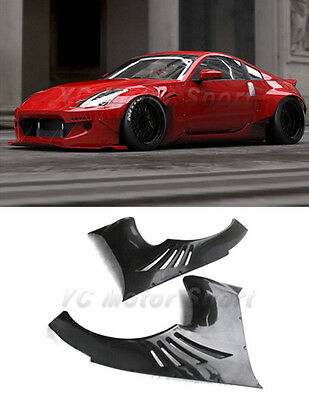 FRP ROCKET RB Version 2 Style Front Fender Flares 2pcs For 02-05 Nissan 350Z Z33