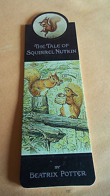 Beatrix Potter Magnetic Bookmark - The Tale of Squirrel Nutkin - NEW