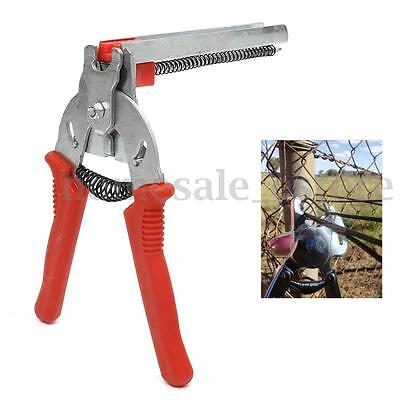 Red Hog Ring Gun Heavy Duty M Nail Plier Fencling Fence Wire Ringer Fast Install