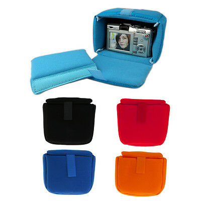 Shockproof Camera Lens Pouch Case Insert Cushion Partition Padded Bag For DSLR