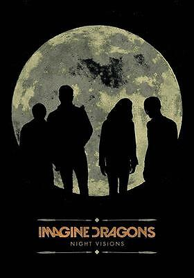 "Imagine Dragons Flagge / Fahne ""night Visions"" Poster Flag Posterflag"