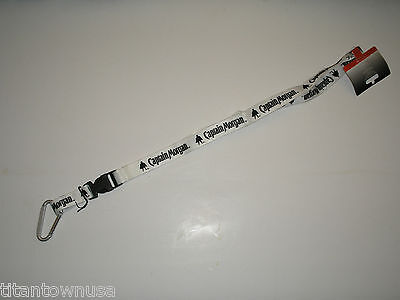 Captain Morgan Official Crew  White  Lanyard    $5.99 Free Shipping