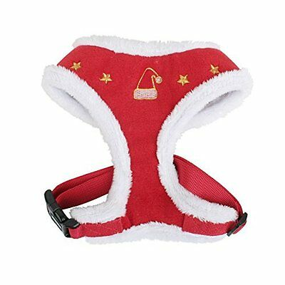 Puppia Santa Harness A for Dog XX-Large Red