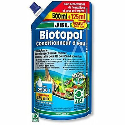 JBL Biotopol Refill 500 + Aquarium Water Treatment 125 ml