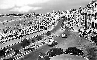 85 Les Sables-D'olonne Plage Et Remblai Carte Photo Flor