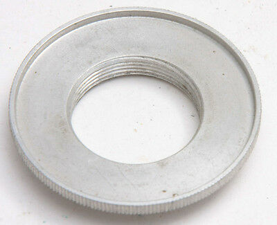 25mm Adapter to 39mm Threaded Jam Nut Metal Lens Retaining Ring - USED X681