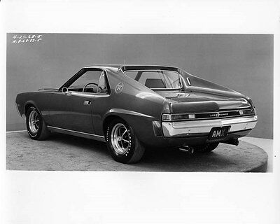1968 AMC AMX Jeffords Factory Photo ad8219