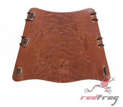 New Strele Archery WINTUU Traditional Leather Arm Guard Armguard Bracer Longbow