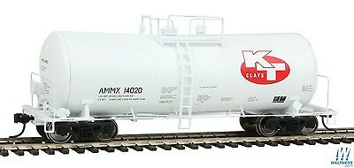 HO Scale WALTHERS PROTO 920-100131 KT CLAY 40' UTLX 16,000 Gallon Funnel Tanker