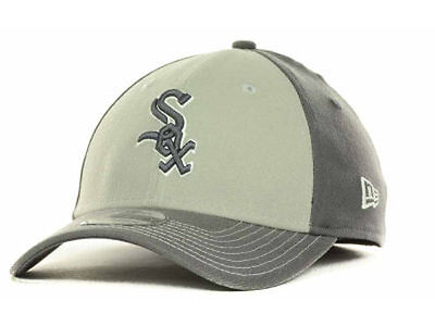 Chicago White Sox MLB Platinum Classic New Era 39Thirty Hat Cap Lid Baseball  L X 0b8621aec955