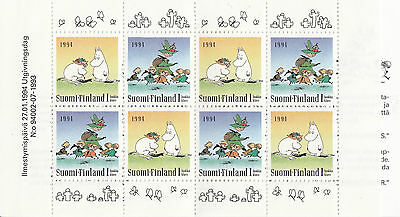 FINLAND BOOKLET :1994 Moomin  complete SG SB42 MNH