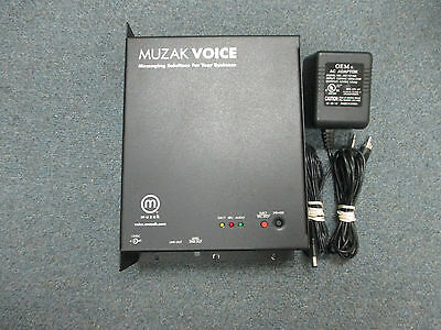 Muzak Voice Messaging Solution Music On Hold Device CD Media - Flash Memory