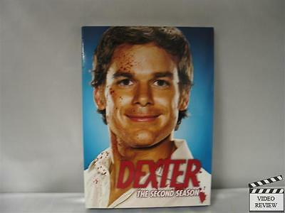 Dexter - The Complete Second Season (DVD, 2008, 4-Di...