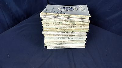 Lot 32 National Association of Watch and Clock Collectors Bulletin 1980-1985