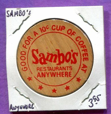 Sambo's Wooden Nickel - Good Anywhere