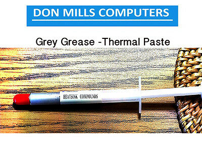 Thermal Paste Grease Compounds [10% Silver METAL OXIDE] sold per 1 stick each