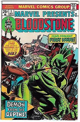 MARVEL PRESENTS #1 (VF/NM) Origin and 1st Appearance of BLOODSTONE! 1975