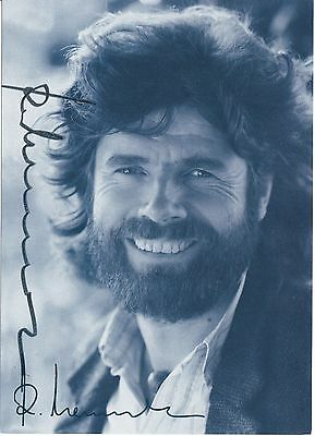 Reinhold Messner Mt Everest Legend Rare Signed Official Fan Card Coa