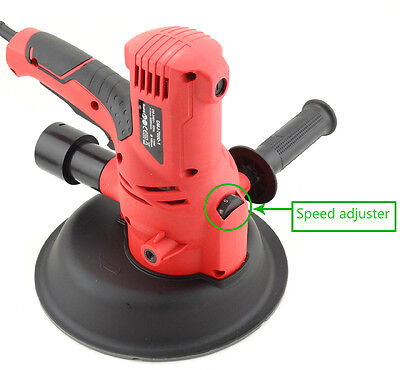 Drywall Sander 1500W with Automatic Vacuum System  Dust Free Plaster Ceilings