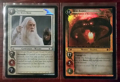LOTR Lord of the Rings tcg BLACK RIDER complete set incl. all 18 RF + 8 O FOILS
