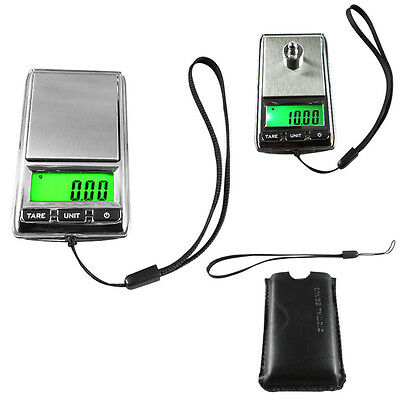 Pocket Digital Jewelry Scale Weight Balance Electronic Gram 500g x 0.1g 0.01g