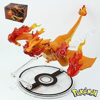 S.H.Figuarts Pokemon Charizard 12cm/4.8'' PVC Action Figure New In Box #006