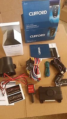 Clifford Matrix 3105X Car Alarm Security System With Keyless Entry Viper 3105V