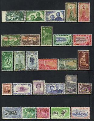 New Zealand 1940-1957 Mostly M/m Selection