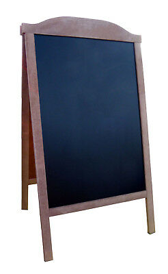Sidewalk Menu Pavement Chalkboard Frame Sign Board Erase Double sided ROSC