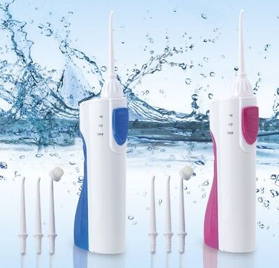 Oral Care 360° Portable Aqua Power Flosser Dental Tooth Mouthwash or Water Clean