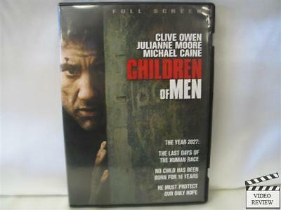 Children of Men * DVD * FS * Clive Owen, Julianne Moore