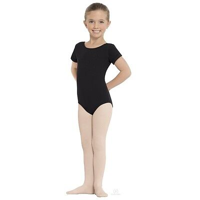Girls Euroskins Dance Theatrical Pink Footed Dance Tights S/M