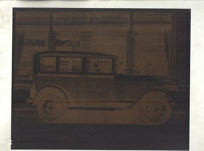 1929 Ford Model A Luxford Taxi Cab ORIGINAL Factory Photograph Negative ww8995
