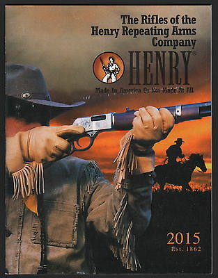 Henry Repeating Arms Catalog - 2015