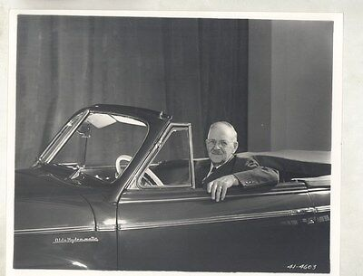 1941 Oldsmobile 98 Convertible Ransom E. Olds ORIGINAL Factory Photograph ww9006