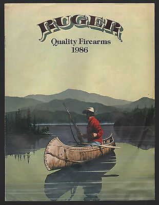 Ruger Quality Firearms Brochure - 1986