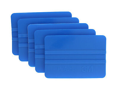 3M 71601 Hand Applicator PA1-B Blue Squeegie 5-Pack of 5 (25 Squeegies in Total)