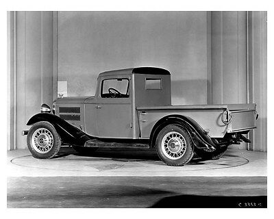 1933 Hudson Terraplane Six Commercial Car Factory Photo uc0035