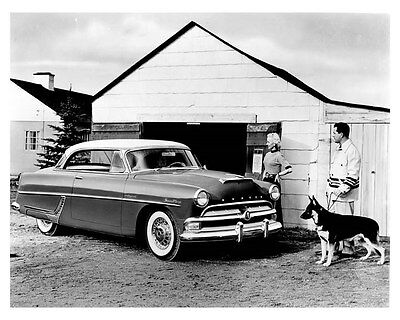 1953 Hudson Hollywood Hardtop Super Wasp Factory Photo uc0077