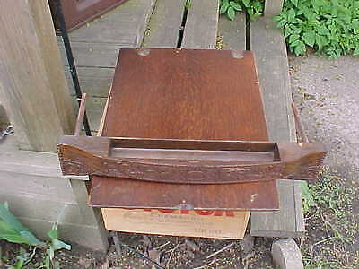 Antique Ornate Oak Wheeler & Wilson Treadle Sewing Machine Middle Center Drawer