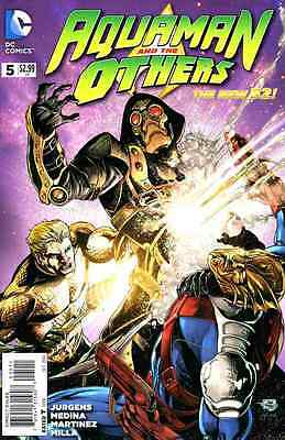 Aquaman and the Others (2014) #5   VF/NM