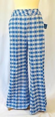 Vintage 70s Hip Hugger Pants Bell Bottoms Polyester Dead Stock Bobbie Brooks 15