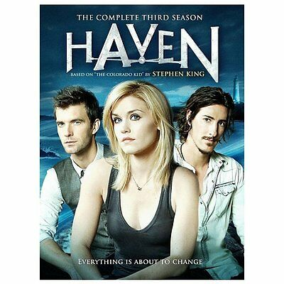Haven: The Complete Third Season (DVD, 2013, 4-Disc Set) Like New