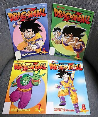 New Dragonball Z Viz Comics Series 2 Lot Of 4 Comic Books 1999 Funimation