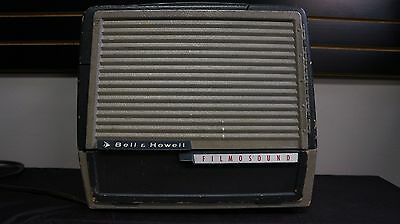 VINTAGE Bell & Howell Filmosound 302 Projector 16MM - Great Guitar Amp Project