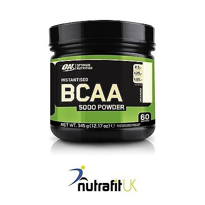 On Optimum Nutrition Instantised Bcaa 5000 Powder 345G Unflavoured Amino Acids